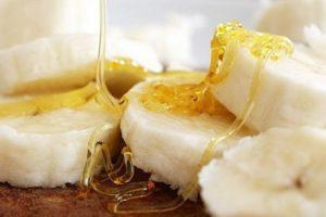 Бананы с медом