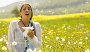 Аллергия на цветочную пыльцу