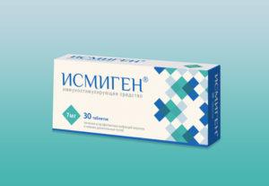 Иммуномодулирующий препарат Исмиген