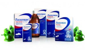 Лазолван оказывает быстрый отхаркивающий эффект, облегчает кашель