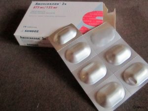 Таблетки Амоксиклава