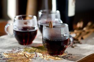 теплое вино