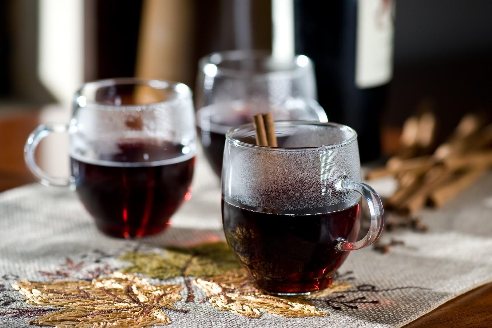 Можно ли пить теплое вино