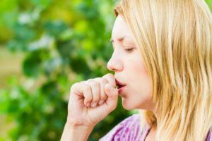 неоткашливающийся кашель
