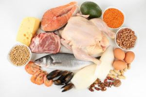 продукты с повышенным содержанием белка