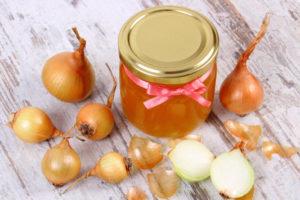 репчатый лук с медом