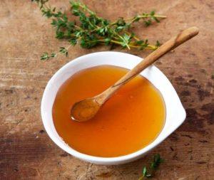 тимьян и мед