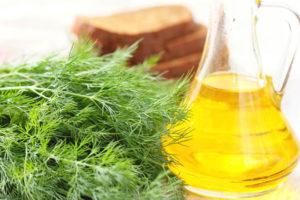 Укропное масло