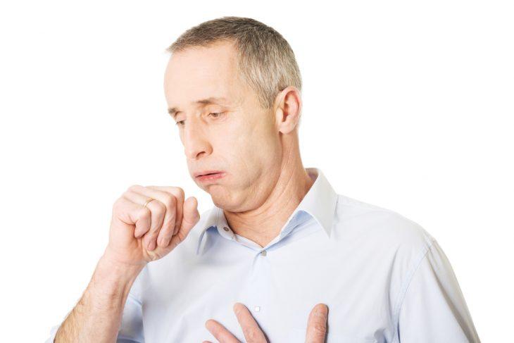 Высокая температура озноб сухой кашель