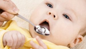 Сироп. Применяется для лечения детей, начиная с грудничков.
