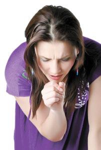 Спазматический сухой кашель