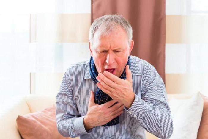 Хрип в горле при выдохе и кашель