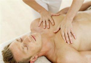 массаж грудной клетки