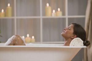 принятия ванны