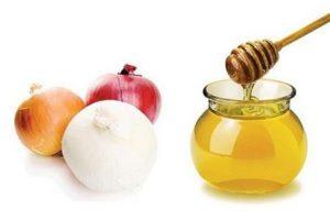 сочетание лука и мёда