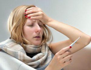 температура и головная боль