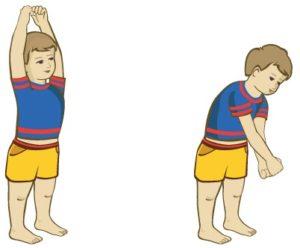 упражнение от кашля для детей