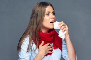 влажный кашель с болью в груди