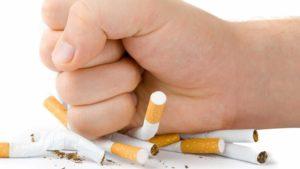 полный отказ от вредных привычек, разрушающих эпителиальную структуру дыхательных путей, в особенности курения